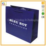 Bolso de compras de papel impreso modificado para requisitos particulares (OEM-GL-001)
