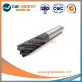 12X30X75HRC45/65 laminatoi di estremità piani della scanalatura solida del carburo 6