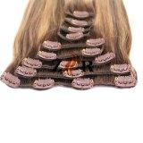 grampo reto brasileiro de Remy da classe 7A em extensões do cabelo humano na venda
