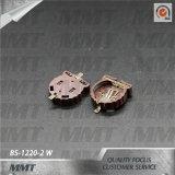 Contenitore di batteria della cassetta portabatterie di Cr1220 SMT BS-1220-2 W