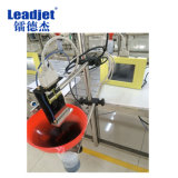 Marcatura di tempo di marchio della stampante di ampio formato di Leadjet A100 sul vetro