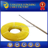 Fio de alta temperatura da trança da fibra de vidro de UL5128 24AWG 22AWG 300V 450c