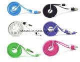 Cable colorido plano USB2.0 para el androide