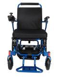 Tout le fauteuil roulant se pliant électrique de terrain avec l'homologation de FDA de la CE