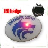 Tornando o LED de alumínio metálico Badge titular para terceiros (XD-B45)