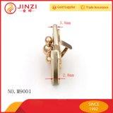 Le luxe de gros de matériel Jinzi croix en or pour les sacs de verrou rotatif en métal/Raccords de cas