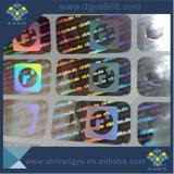 Étiquette de Anti-Contrefaçon faite sur commande d'hologramme de laser d'Anti-Article truqué