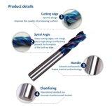 Stevig Carbide 4 van de Hulpmiddelen van de hoge Precisie Scherp Molen van het Eind van de Fluit de Vlakke