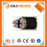 O cobre do núcleo 16mm2 da baixa tensão 4 (Cu)/XLPE isolou/fita de aço blindado/do PVC cabo distribuidor de corrente