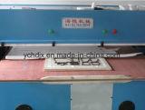 Máquina de estaca hidráulica do couro de sapata