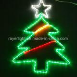 Feux à LED étanche Bande souple 4 feux à LED colorées de la corde de l'usine