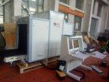 Operação multilingue do varredor da bagagem do raio X