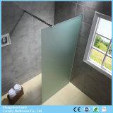 安い価格(9-3490-F)の現代デザイン曇らされたガラスのシャワー・カーテン