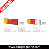 12V/24V E-MARK genehmigte Enddrehung-Anzeigelampe 3 Hülse-Multifunktions-LED