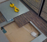 OA磁気カーペットが付いている鋼鉄ネットワーク床のカップル