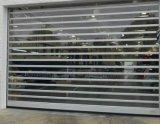Interior de alumínio Cilindro transparente dos preços das portas do Obturador