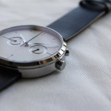 Vigilanze su ordinazione 72939 di marchio dell'ultimo orologio minimalista del Mens