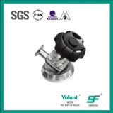 Manual de aço inoxidável / Válvula de diafragma pneumática com plástico