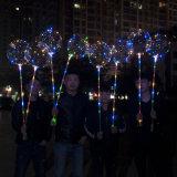 Het batterij In werking gestelde van het Helium Silver Wire Christmas Koord van Bobo Balloon