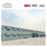 中国製容易なインストール現実的なプレハブの鋼鉄倉庫