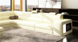 Home Furniture New Design Living Room Sofá de couro (HC1100)