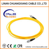 Aus optischen Fasern einzelner Modus der Kabel-Steckschnür-FC-FC