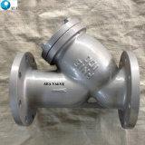 Промышленные стальные фланцевые Y сетчатый фильтр с земного шара клапана вентиляции