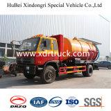vrachtwagen van de Zuiging van de Riolering van 8.5cbm de Speciale met de Motor van Cummins