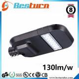 luz de calle de 130lm/W 160W LED con alta calidad