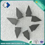 No Estándar personalizados puntas de carburo de tungsteno inserciones para herramientas de corte