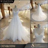 Bon marché plus des robes de mariage de taille faites dans l'usine de la Chine