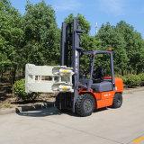 Forklift Diesel com a braçadeira de papel do rolo
