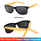 5052 Fashion Eco Temples de bambou Lunettes de soleil