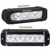 4X4 40W는 지프 SUV UTV ATV 트럭 IP67를 위한 줄 Offroad LED 표시등 막대를 골라낸다