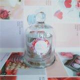 100% de la Vela de cera de soja perfumada en frasco de vidrio