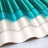 폴리탄산염 물결 모양 루핑 장 또는 강철 건축재료 또는 기와