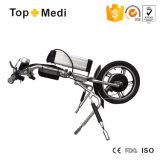 Topmedi 36V 350W triciclo triciclo eléctrico Kit de conversión de la silla de ruedas con neumático de aire
