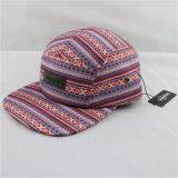 Шлем панели полиэфира 5 с изготовленный на заказ кожей латает Hangtag