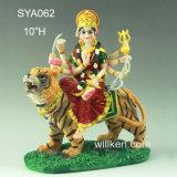 Deidades Hindu Hindu resínicas por atacado Durage Maa do deus & da deusa