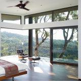 Nettes Entwurfs-Aluminium gestaltet Handelsschiebendes Aluminiumfenster