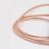 Het Laden van het Roestvrij staal USB van de Schakelaar van de Legering van het Zink van Wholesales Sterke Kabel