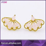 China Wholesale de Zirconia joyas Stud Earrings para mujeres