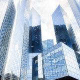 Mur rideau en verre isolant supporté par bâti pour le centre commercial