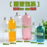Nuove bottiglie di vetro della bevanda di disegno 250ml 500ml per spremuta, bottiglie di vetro del latte con paglia e coperchio