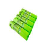 Sacchetti concimabili biodegradabili dell'amido di granturco 100% su rullo per alimento Wastebottom/carta kraft