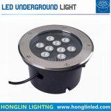 高品質6W LEDの床の屋外の地下の庭ライト