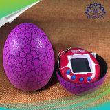 Il reticolo virtuale elettronico delle crepe della macchina degli animali domestici coltiva la macchina tenuta in mano degli animali domestici dell'uovo della crepa della macchina del gioco dei capretti del giocattolo del bambino della chiavetta dell'uovo
