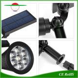 7 LEDs via RGB LED de luz solar destaca à prova de iluminação de exterior