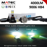 Faro H1&#160 dell'automobile del LED; H7 H11 H4 880  9006 un faro delle 9005 PANNOCCHIE LED, 40W  Automobile del faro del LED