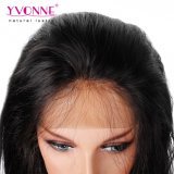 Parrucca diritta naturale brasiliana della parte anteriore del merletto dei capelli umani di Yvonne per le donne di colore